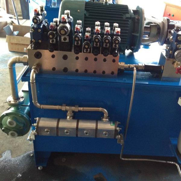 液压泵站液压泵站高压油管厂家案例