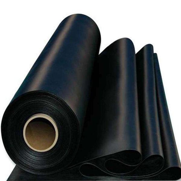 黑色耐酸碱橡胶板